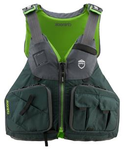 NRS Chinook Fishing PFD 2020 Life Jacket   Kayak Anglers- GR