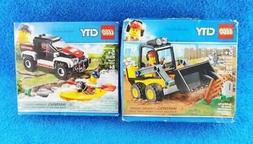 Lego City 60240  Kayak Adventure & 60219 Front End Loader -