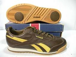 REEBOK CL SUPER COURT DELUXE LOW MEN SHOES NUT BROWN/KAYAK *