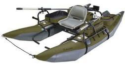 colorado xt inflatable pontoon boat sage grey