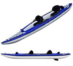 Aquaglide Columbia XP Two Inflatable Kayak-Blue/White