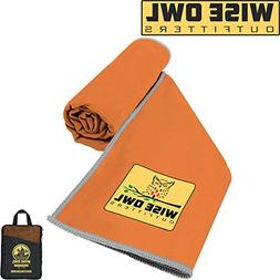Compact Microfiber Towel Backpacking Best Yoga Travel Quick