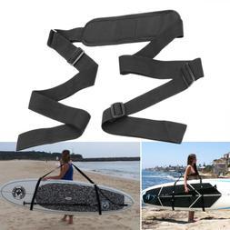 Convenient Surfboard Shoulder Strap Carry Sling Paddle Kayak