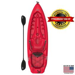 Lifetime Daylite 80 Sit-On-Top Kayak , Red, Adjustable 90775