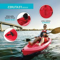 Lifetime Daylite Kayak 8 ft Sit-on-top Kayak With Paddle Fas