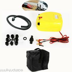 DC 12V Electric Air Pump Inflator for Inflatable Boat Raft K