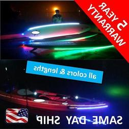DIY kayak MOD - LED light kit - all sizes and colors RED - W