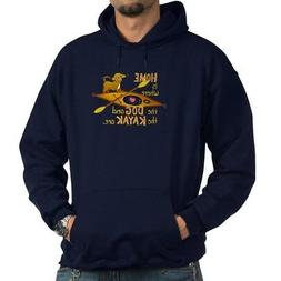 CafePress - Dog And Kayak - Pullover Hoodie