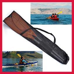 Drawstring Mesh Kayak Paddle Bag Split Shaft Canoe SUP Paddl