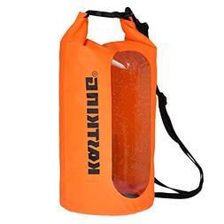 KastKing Dry Bag Waterproof Roll Top Sack for Beach, Hiking,