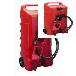 DuraMax Flo n' Go LE Fluid Transfer Pump and 14-Gallon Rolli