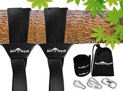 EASY HANG  TREE SWING STRAP X2 - Holds 4400lbs. - Heavy Duty