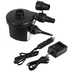 Omont Electric Quick-Fill Air Pump 110V AC/12V DC Portable I