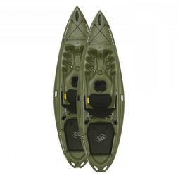 Emotion 2-Pack 10 ft Renegade Plastic Kayaks - Olive Green
