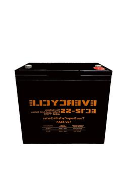 """Evercycle: 12V 200CCA Battery for """"Craftsman 25780 Lawn Trac"""