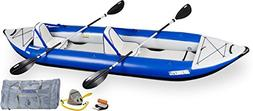 Sea Eagle Explorer Inflatable Kayak with Deluxe Accessory Pa