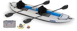 Sea Eagle Fast Track Inflatable Kayak with Pro Accessory Pac