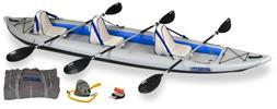 Sea Eagle FastTrack 465-Feet Inflatable Kayak Deluxe Package