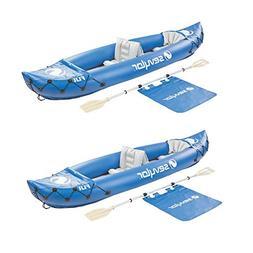 Sevylor Fiji 2-Person Inflatable 22 Gauge PVC Travel Pack Ca