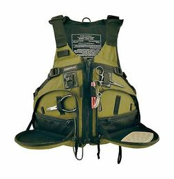 Stohlquist Fisherman Personal Floatation Device, Cactus, Lar