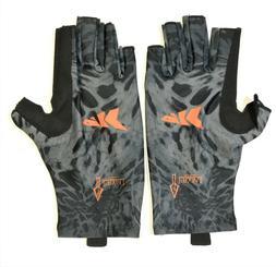 KastKing Fishing Gloves Men Women Size S-M UV Protection UPF