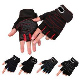 Fishing Half Finger Gloves Non-slip Kayaking Paddling Canoei
