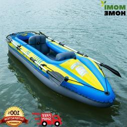 Fishing Kayak Boat Inflatable Kayak 2 Person Set with Paddle
