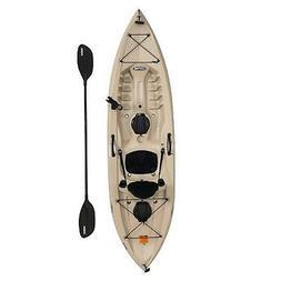 Fishing Kayak with Paddle 10 Ft Lifetime Tamarack Angler 100