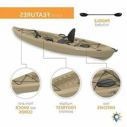Fishing Kayak With Paddle Fishing Rod Holder Padded Seat Bac