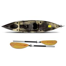 Riot Escape 12 Angler Fishing Kayak SOT with paddle for lake