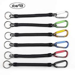 6pcs Pack Fishing Lanyards Boating Multicolor Fishing Ropes