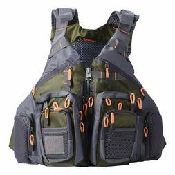 Fishing Life Jacket Safety Vest Swim Sailing Boating Kayak F