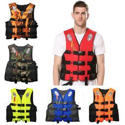 Fishing Life Jacket Water Sports Adult Kid Kayak Boating Swi