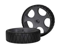 "Wilderness Systems 12"" Flat-Free Wheels, Pair - for Heavy Du"