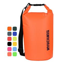 MARCHWAY Floating Waterproof Dry Bag Backpack 5L/10L/20L/30L