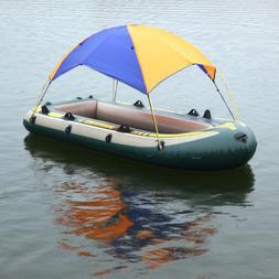 Foldable Inflatable Kayak Boat Rain Shelter Camping Tent Sun