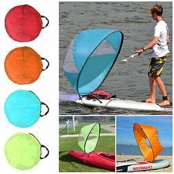 Foldable Kayak Boat Wind Sail Sup Paddle Board Sailing Windp