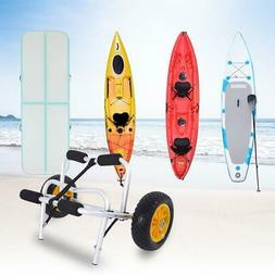 Foldable Kayak Dolly Cart Carrier Boat Canoe Trolley Trailer