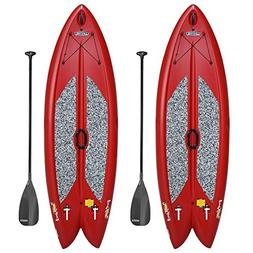 Lifetime Freestyle XL 98 Stand-Up Paddleboard - 2 Pack , Red