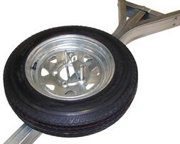 Malone Galvanized Trailer Spare Tire with Locking Attachment