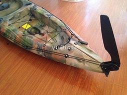 Glass Nylon Fiber Watercraft Canoe Kayak Boat Rudder With St