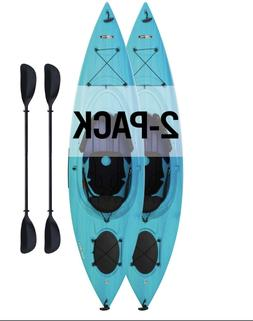 Lifetime Guster 10 Sit-In Kayak    Features: Adjustable Padd