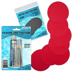 Pool Above Heavy Duty Vinyl Repair Patch Kit for Inflatables