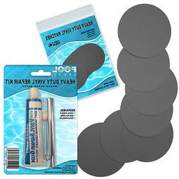 Heavy Duty Vinyl Repair Patch Kit for Inflatables Boat Raft