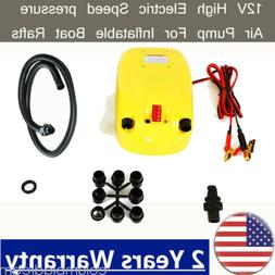 High Electric Speed Pressure Air Pump For Inflatable Boat Ra