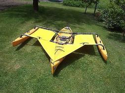Hobie Adventure Island Kayak Trampoline & splash shield Yell