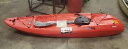 LIFETIME HYDROS RED SIT ON TOP KAYAK  8.5 Feet Paddle Includ