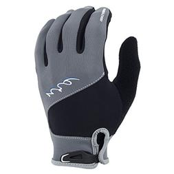 NRS HydroSkin Gloves - Women's Grey / Black Small