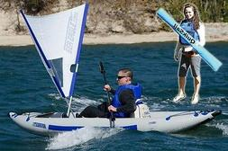 Sea Eagle Inc. - QuikSail - A Quick Sail for Kayak Sailing