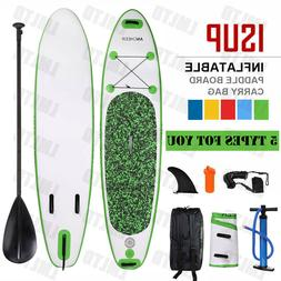 "Inflatable 11' Stand Up Paddle Board 2 in 1 SUP+Kayak 6"" Sur"